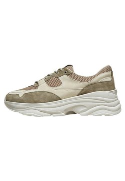 Selected Homme - SLHGAVIN  - Sneakers laag - deep lichen green