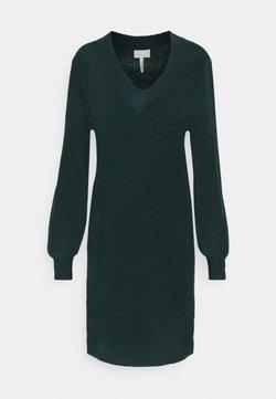 Object - OBJIRINA DRESS  - Sukienka dzianinowa - scarab