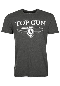 TOP GUN - T-shirt print - anthracite