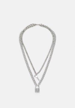 Vintage Supply - NECKLACE UNISEX - Kaulakoru - silver-coloured