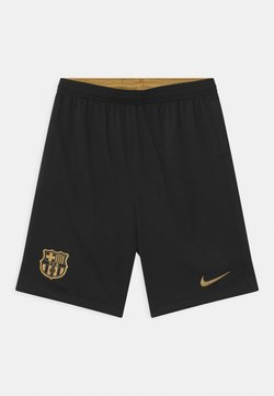 Nike Performance - FC BARCELONA UNISEX - Pantalón corto de deporte - black/metallic gold