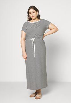 ONLY Carmakoma - CARMAI LIFE DRESS - Maxi-jurk - cloud dancer/black