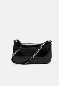 Calvin Klein Jeans - PROVOCATIVE SHOULDER BAG UNISEX - Schoudertas - black