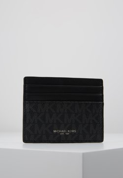 Michael Kors - TALL CARD CASE UNISEX - Lompakko - black