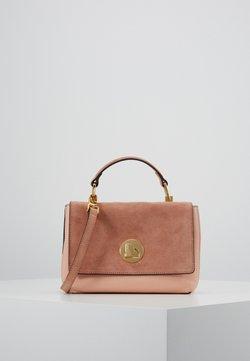 Coccinelle - LIYA BICOLOR TOP HANDLE - Handtasche - rose/litchi