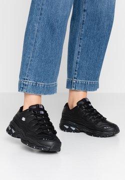 Skechers Wide Fit - WIDE FIT ENERGY - Sneakers laag - black smooth