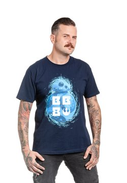 Nastrovje Potsdam - STAR WARS BB8  - T-Shirt print - dunkelblau
