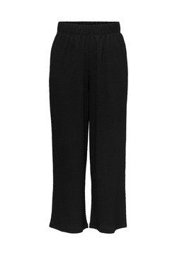 ONLY - ONLSANDRA 7/8 PANTS JRS - Jogginghose - black