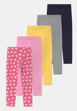 Friboo - 5 PACK - Legging - pink/dark blue/yellow