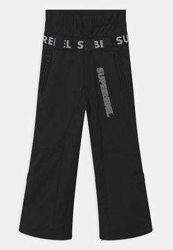 SuperRebel - SUSTSAINABLE UNISEX - Talvihousut - black