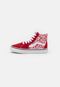 Vans - SK8 UNISEX - Korkeavartiset tennarit - chili pepper/racing red