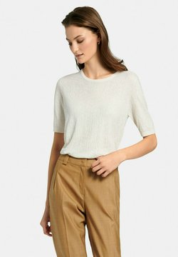 FADENMEISTER BERLIN - MIT 1/2-ARM - Maglione - offwhite