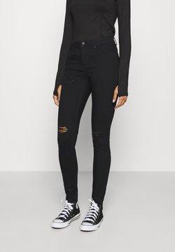 Vero Moda - VMTANYA PIPING - Jeans Skinny Fit - black