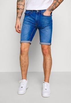 Burton Menswear London - HYPER - Jeansshort - blue