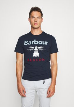 Barbour Beacon - MANOR TEE - T-shirt print - new navy