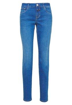 CLOSED - BAKER LONG MID WAIST REGULAR LENGTH - Jeans slim fit - mid blue