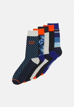 Jack & Jones - JACBLUEIS SOCK 5 PACK - Calze - black/navy blazer