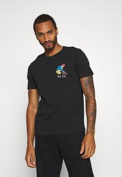 Nudie Jeans - ROY - T-shirt med print - black