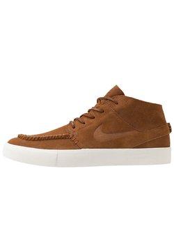 Nike SB - ZOOM JANOSKI MID CRAFTED - Sneakers hoog - light british tan/black/pale ivory