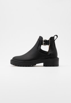 ONLY SHOES - ONLBOLD CUT OUT - Ankle Boot - black
