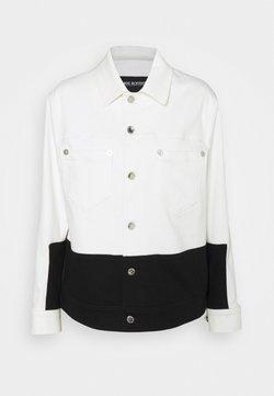 Neil Barrett - SKINNY JACKET - Giacca di jeans - off white/black