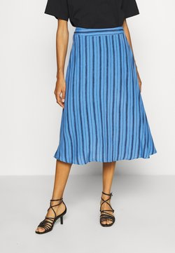 GAP - CIRCLE SKIRT - Gonna a campana - blue
