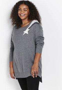 Evans - SHOOTING STAR - Sweter - grey