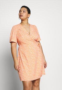 Fashion Union Plus - MERYL DRESS - Freizeitkleid - cantalope