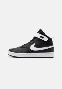 Nike Sportswear - COURT BOROUGH MID 2 UNISEX - Sneaker high - black/white