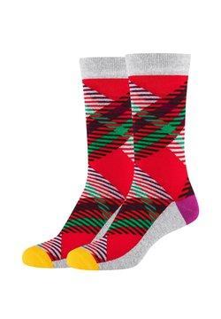 Fun Socks - 2ER PACK - Socken - red
