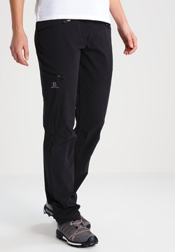 Salomon - WAYFARER - Pantalones - black