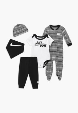 Nike Sportswear - STRIPE SET - Muts - black