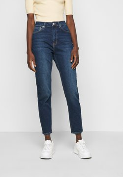 NA-KD Tall - MOM  - Relaxed fit jeans - dark blue