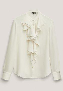 Massimo Dutti - MIT VOLANTS  - Koszula - white