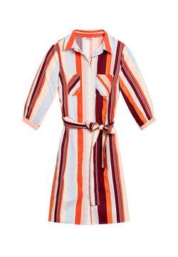 ORSAY - MIT STREIFEN - Blusenkleid - orange