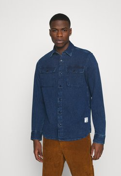 Jack & Jones - JJ30CPO - Koszula - dark blue denim