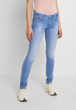 Tommy Jeans - SCARLET - Jeansy Skinny Fit - maldive light blue