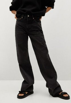 Mango - ARIADNA - Flared jeans - black denim