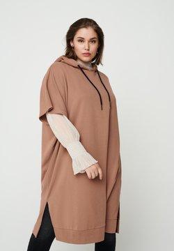 Zizzi - Jerseykleid - brown