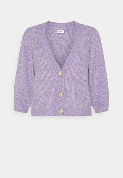 Noisy May - NMLILJE V NECK CARDIGAN - Chaqueta de punto - pastel lilac