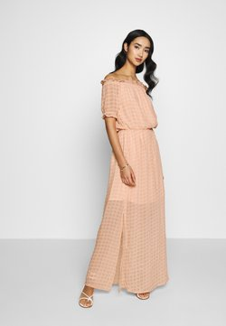YAS - YASSULLEY MAXI DRESS - Maxi dress - nasturtium