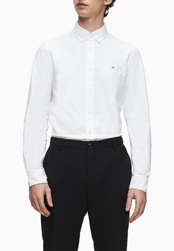 Calvin Klein - SLIM OXFORD - Businesshemd - calvin white