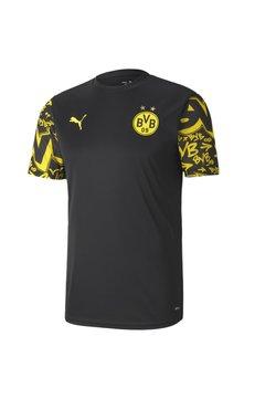 Puma - BVB BORUSSIA DORTMUND STADIUM - Vereinsmannschaften -  black-cyber yellow-away