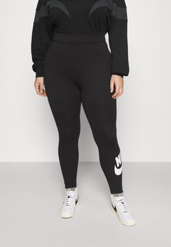 Nike Sportswear - FUTURA  - Leggings - Trousers - black/white