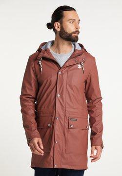 Schmuddelwedda - Regenjacke / wasserabweisende Jacke - rost