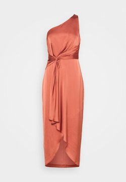 Forever New - HAIDEE ONE SHOULDER DRESS - Juhlamekko - rose rust