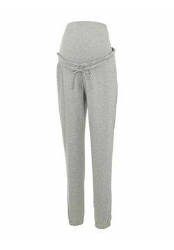 MAMALICIOUS - MLPAGE - Pantalones deportivos - light grey melange