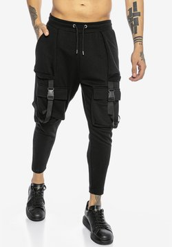 Red Bridge - GREELEY - Jogginghose - black
