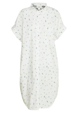 Monki - WANNA DRESS - Skjortekjole - white