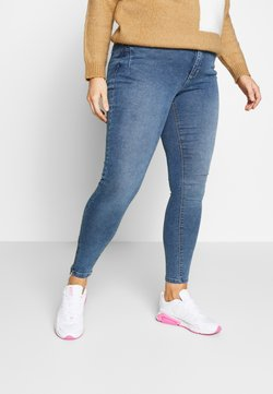 Zizzi - AMY - Jeans Skinny Fit - blue denim